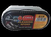 واکس  کفش براق کننده مشکی+COBRA CLEANING SPONG