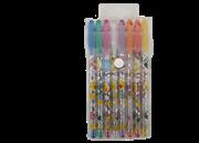 خودکار 8 رنگ اکلیری+GLITTER  PEN