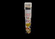 مداد رنگی استوانه ای 12 عددی+12 COLOR Pencils