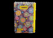 دفترچه یادداشت جلد تلقی 100 برگ+