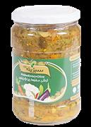 ترشی مخلوط ریز+ زیتون 670 گرمی+pickled(mix) +Olive