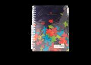 دفتر مشق جلد تلقی فنری 200 برگ+