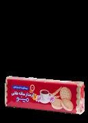 بیسکویت گندم کامل کرمدار 192 گرم+Cream Biscuit SAGHE TALAIE