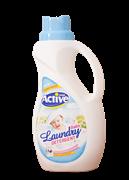 مایع لباسشوئی کودک فاقد رنگ و اسانس حساسیت زدا 1500 گرمی (آبی)+Active Home Laundary Baby