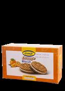 بیسکویت کرمدار با طعم پرتقال 380 گرمی+Orange Flavor Cream Biscuit