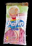 دستکش خانگی بلند سایز متوسط+ Gloves Parin Latex Household-M
