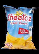 چیپس برگه سیب زمینی نمکی 90 گرمی+POTATO Chips Original