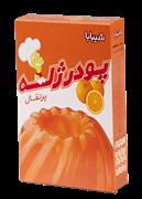 پودر ژله با طعم پرتقال 100 گرمی+JELLEY DESERT ORANGE