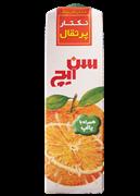 نکتار پالپ دار با طعم پرتقال 1 لیتری+Orange Nectar with pulp
