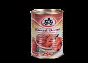 کنسرو خوراک لوبیا چیتی با سس گوجه فرنگی 385 گرمی+canned BaKed Beans