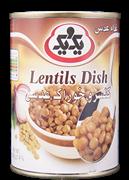 کنسرو خوراک عدس 385 گرمی+Lentils Dish