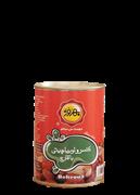 کنسرو لوبیا چیتی با قارچ 410 گرمی+canned baked pinto beans with mushroom